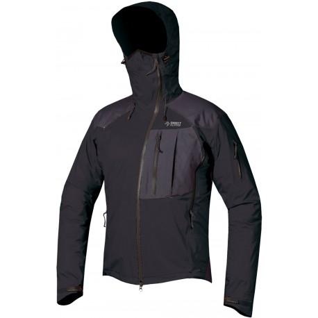 Direct Alpine Guide 5.0 black/anthracite pánská nepromokavá bunda Gelanots HB 3L