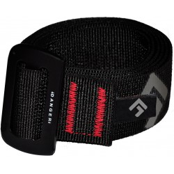 Direct Alpine Belt black logo opasek
