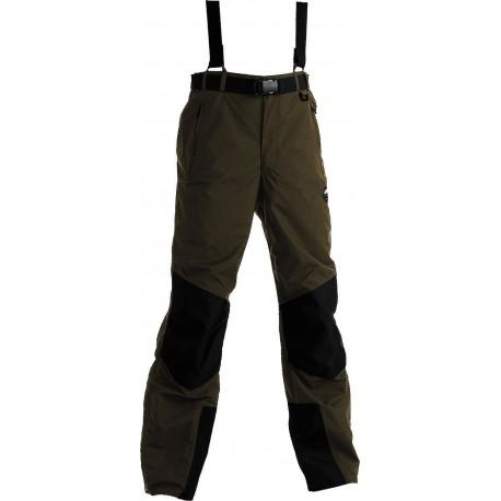 High Point Teton 2.0 dark khaki/black pánské nepromokavé kalhoty BlocVent 2L SDWR