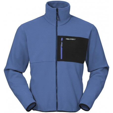 High Point Interior 2.0 blue pánská fleecová bunda Polartec Classic 200