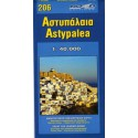 ORAMA 206 Astypalea 1:40 000 turistická mapa