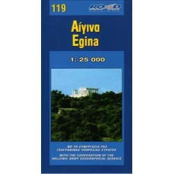 119 Egina 1:25 000