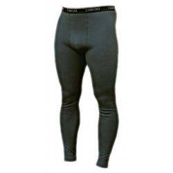 Jitex BoCo Boren 930 TES tmavě khaki pánské spodky dlouhá nohavice Merino vlna