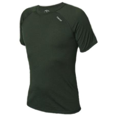 Jitex BoCo Ibiz 902 TSS tmavě khaki pánské triko krátký rukáv Merino vlna