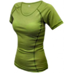 Jitex BoCo Kamada 801 TSS zelená dámské triko krátký rukáv Merino vlna
