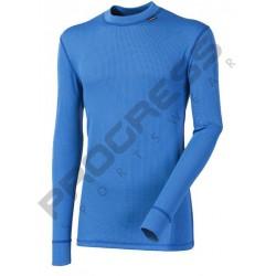 Progress Micro Sense MS NDR středně modrá pánské triko dlouhý rukáv