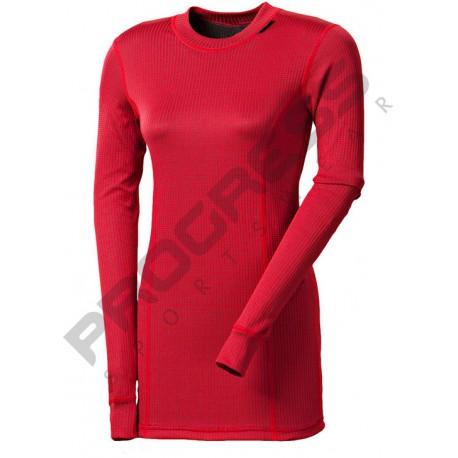 Progress Micro Sense MS NDRZ bordó dámské triko dlouhý rukáv