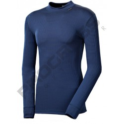 Progress Micro Sense MS NDR modrá pánské triko dlouhý rukáv