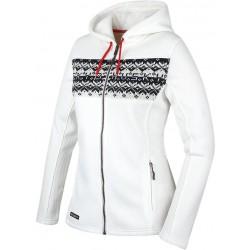 Husky Klaider L bílá dámský svetr