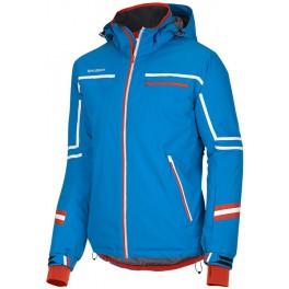Husky Bradfor modrá pánská nepromokavá zimní lyžařská bunda Aquablock Plus