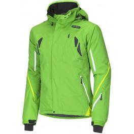 Husky Windor zelená pánská nepromokavá zimní lyžařská bunda HuskyTech 20000