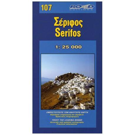 107 Serifos 1:25 000