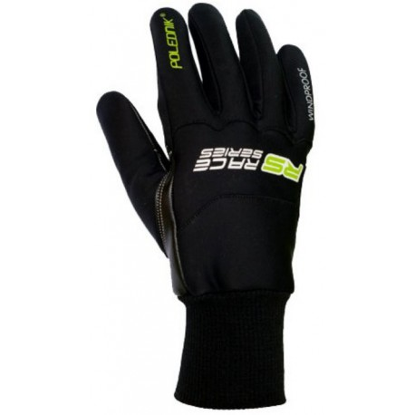Polednik RSW černá unisex větruodolné rukavice
