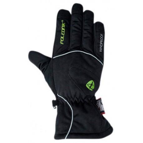 Polednik Frost černá unisex lyžařské rukavice