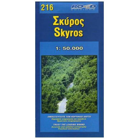 216 Skyros 1:50 000