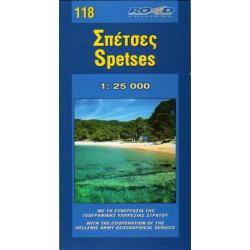 118 Spetses 1:25 000