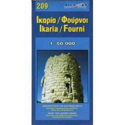 209 Ikaria, Fourni 1:50 000
