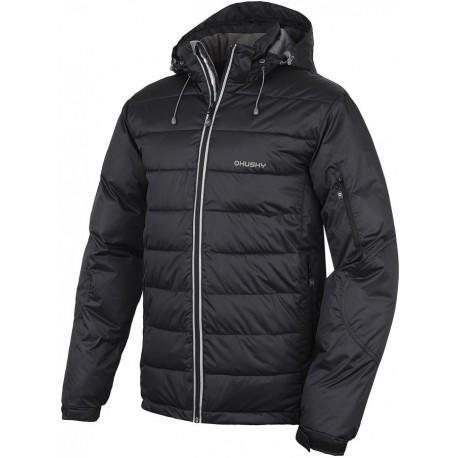 Husky Nerd černá pánská zimní bunda HuskyTech 5000