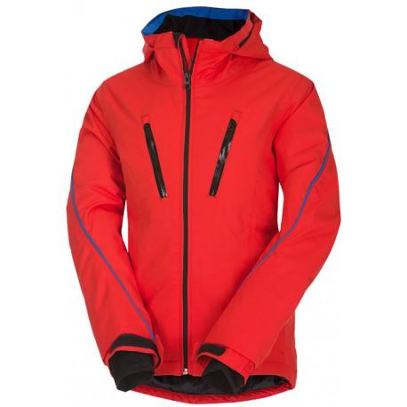 Husky Lona oranžová dětská nepromokavá zimní lyžařská bunda Aquablock Plus