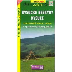 SHOCart 1077 Kysucké Beskydy, Kysuce 1:50 000 turistická mapa