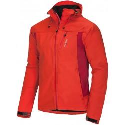 Husky Apeli M oranžová pánská softshellová bunda Extend-Plus Softshell 10000