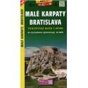 SHOCart 1078 Malé Karpaty, Bratislava 1:50 000 turistická mapa