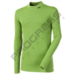 Progress Micro Sense MS NDR zelené pánské triko dlouhý rukáv