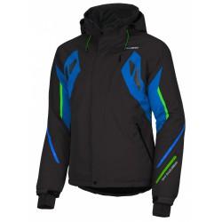 Husky Windor černá pánská nepromokavá zimní lyžařská bunda HuskyTech 20000