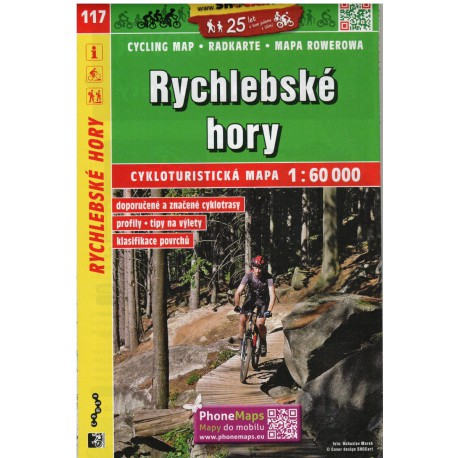 SHOCart 117 Rychlebské hory 1:60 000