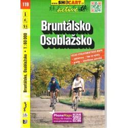 SHOCart 119 Bruntálsko, Osoblažsko 1:60 000 cykloturistická mapa