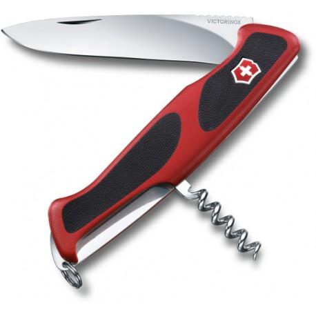 Victorinox RangerGrip 52 červená/černá 0.9523.C švýcarský kapesní multifunkční nůž