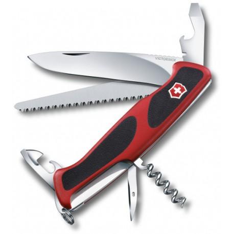 Victorinox RangerGrip 55 červená/černá 0.9563.C švýcarský kapesní multifunkční nůž