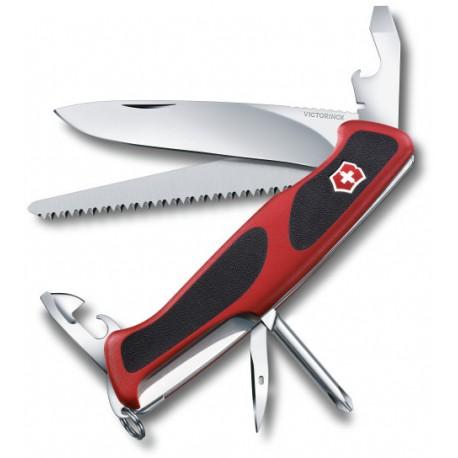 Victorinox RangerGrip 56 červená/černá 0.9663.C švýcarský kapesní multifunkční nůž