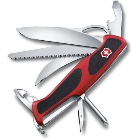 Victorinox RangerGrip 58 Hunter červená/černá 0.9683.MC švýcarský kapesní multifunkční nůž