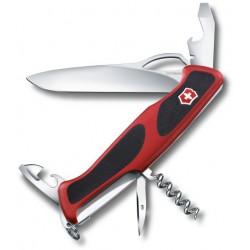 Victorinox RangerGrip 61 červená/černá 0.9553.MC švýcarský kapesní multifunkční nůž