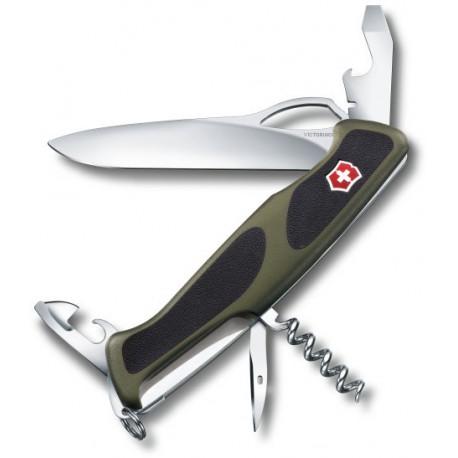 Victorinox RangerGrip 61 zelená/černá 0.9553.MC4 švýcarský kapesní multifunkční nůž