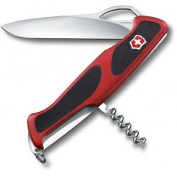 Victorinox RangerGrip 63 červená/černá 0.9523.MC švýcarský kapesní multifunkční nůž