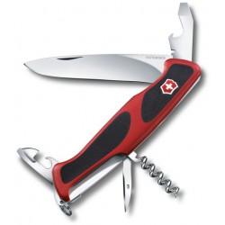 Victorinox RangerGrip 68 červená/černá 0.9553.C švýcarský kapesní multifunkční nůž