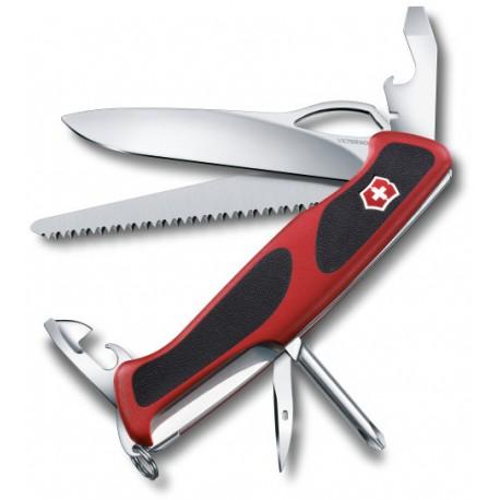 Victorinox RangerGrip 78 červená/černá 0.9663.MC švýcarský kapesní multifunkční nůž