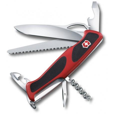 Victorinox RangerGrip 79 červená/černá 0.9563.MC švýcarský kapesní multifunkční nůž