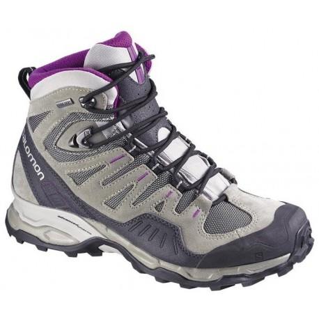 Salomon Conquest GTX W titanium/anemone purple 327981 dámské nepromokavé trekové boty
