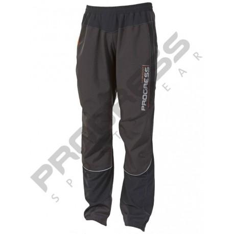 Progress Horizont M černá pánské větruodolné softshellové kalhoty