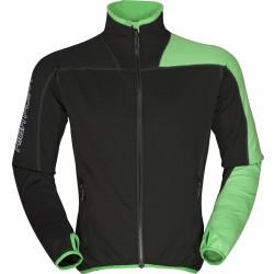 High Point Elektron 3.0 black/green pánská fleecová mikina Tecnostretch (1)