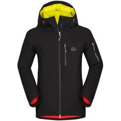 Zajo Nuuk JKT černá pánská nepromokavá zimní lyžařská bunda Sympatex/Primaloft