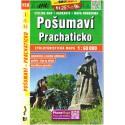 SHOCart 158 Pošumaví, Prachaticko 1:60 000 cykloturistická mapa