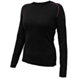 Jitex Ilesa 802 TSS černá/fialová dámské triko dlouhý rukáv