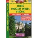 SHOCart 225 Tribeč, Považský Inovec, Vtáčnik 1:100 000 turistická mapa