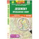 SHOCart 457 Jeseníky, Rychlebské hory 1:40 000 turistická mapa