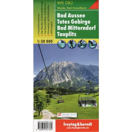 Freytag & Berndt WK 082 Bad Aussee, Totes Gebirge, Bad Mitterndorf, Tauplitz 1:50 000