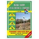 VKÚ 12 Nízké Tatry 1:25 000 turistická mapa